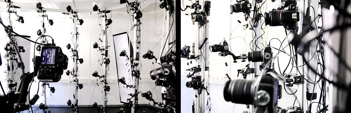 Das Avatar-Labor des Würzburger Lehrstuhls für Mensch-Computer-Interaktion. Foto: Jörg Fuchs