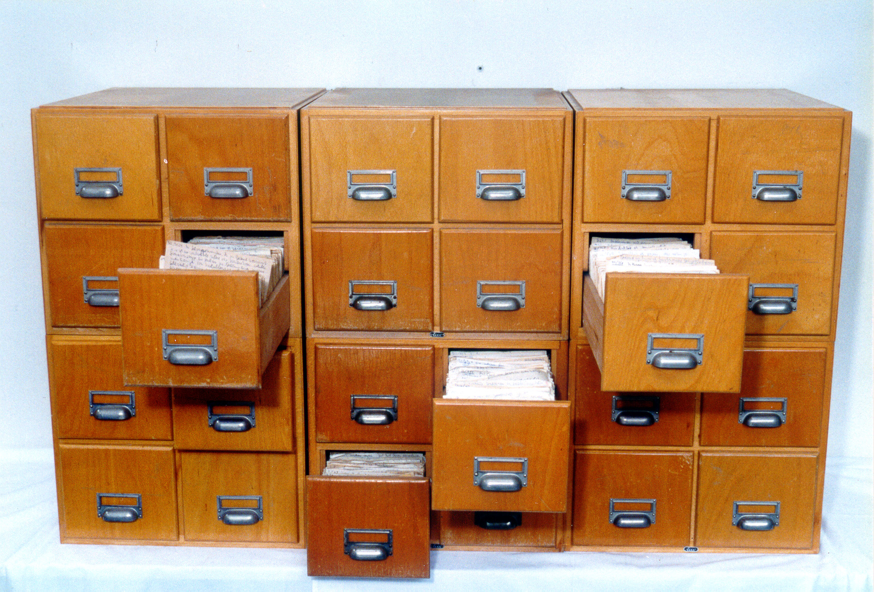 Der Zettelkasten ist das Geheimnis von Niklas Luhmanns immenser Produktivität. Foto: Uni-versität Bielefeld