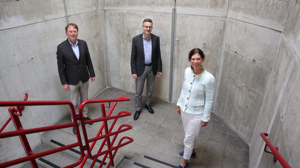 Prof. Dr. Frd G. Becker, Andreas Hettich und Prof'in Dr. Christina Hoon bilden das iFUn-Team (v.l.).