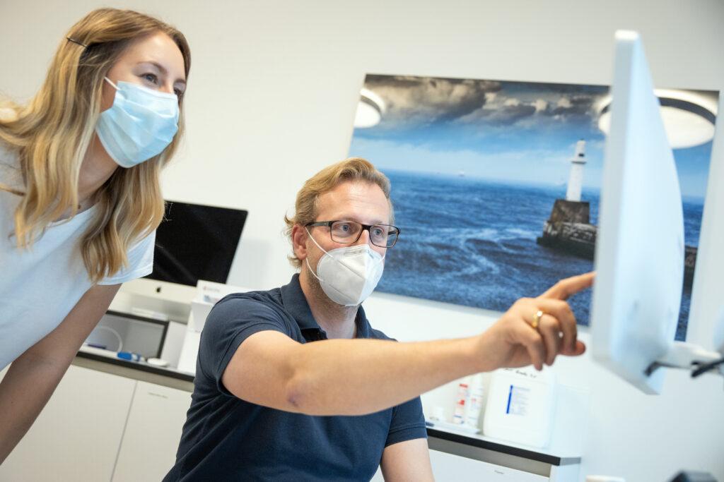 Der neue Modellstudiengang wird vor allem eine allgemeinmedizinische Ausbildung im Fokus haben, Lehrsituation
