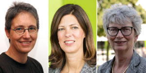 Personaliencollage: Ellen Baake, Christina Hoon, Katharina Kohse-Höinghaus