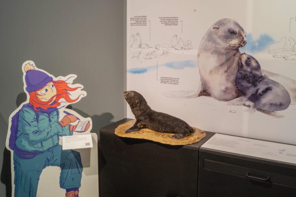 Ausstellung Tierisch Individuell