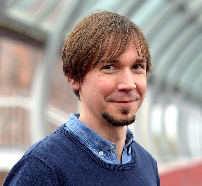 Juniorprof. Dr. Tobias Hecker, Foto der Person
