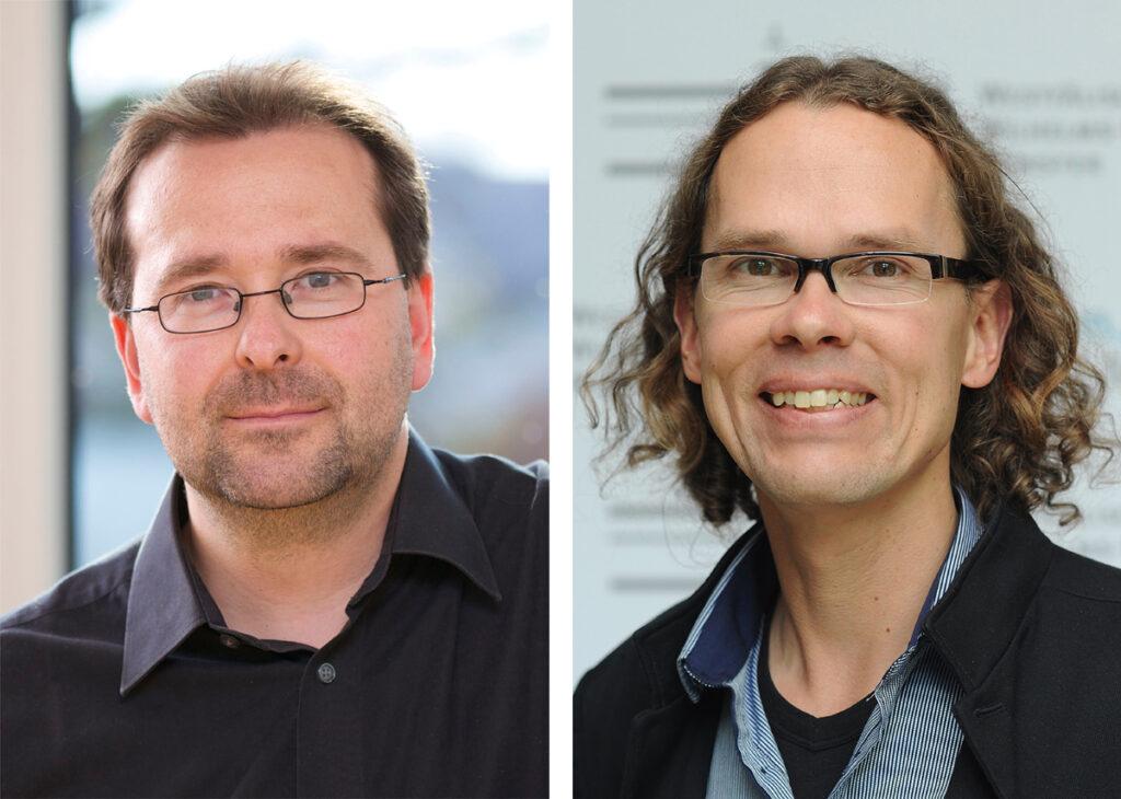 Prof. Dr. Oliver Krüger und Prof. Dr. Joachim Kurtz