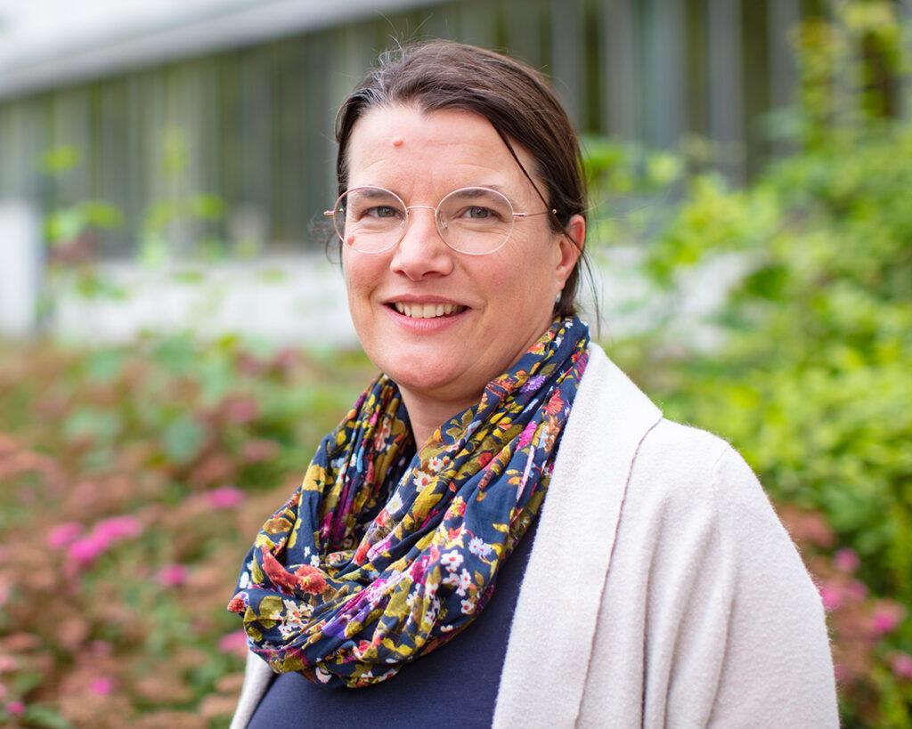 Prof'in Dr. Barbara Caspers von der Fakultät für Biologie, Foto der Person
