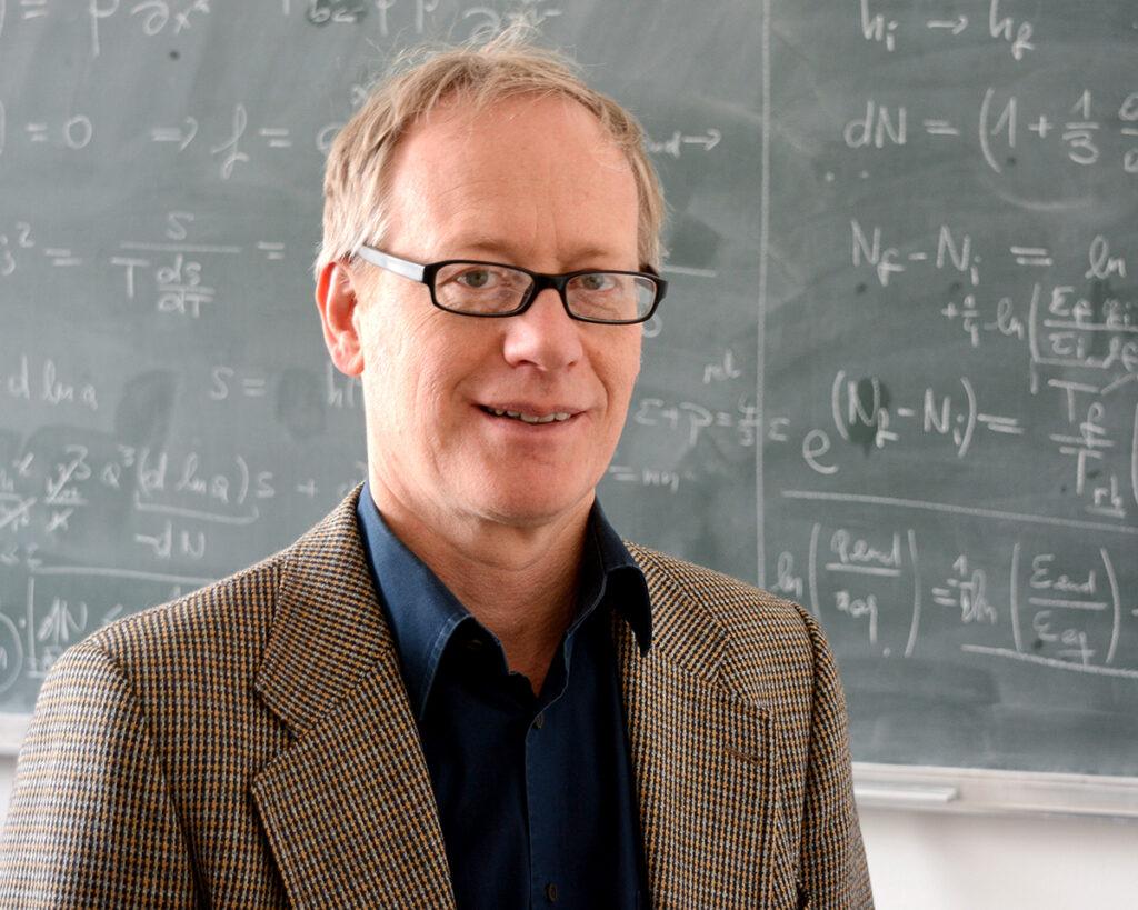 Prof. Dr. Dominik Schwarz von der Fakultät für Physik, Foto der Person