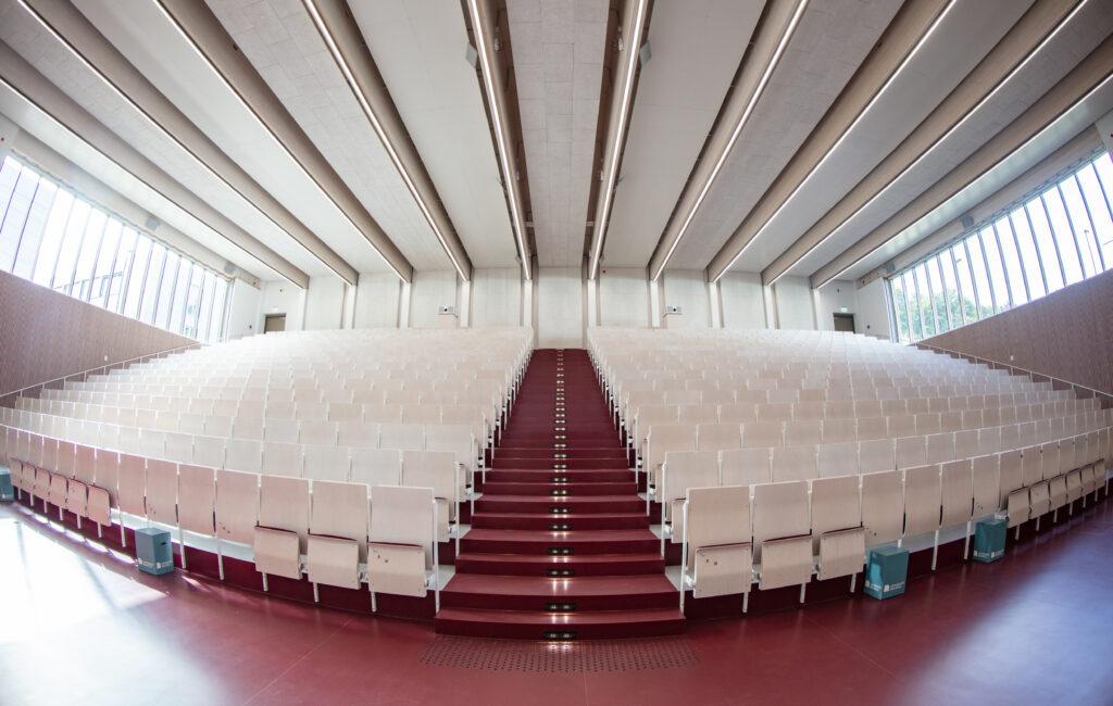 Eröffnung Gebäude Y: Hörsaal