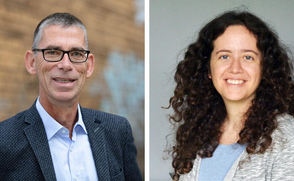 Prof. Dr. Oliver Razum und Dr. Yudit Namer, Bilder der Personen