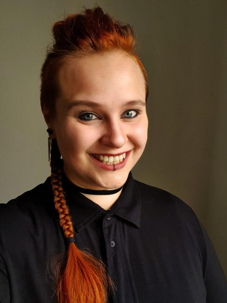 Psychologiestudentin Meidine Padligur, Bild der Person